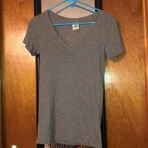 Gray Victoria Secret t-shirt